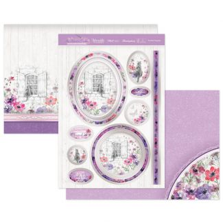 Purrfect Poppies Luxury Topper Set