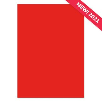 A4 Adorable Scorable Cardstock - Red Cherry x 10 Sheets