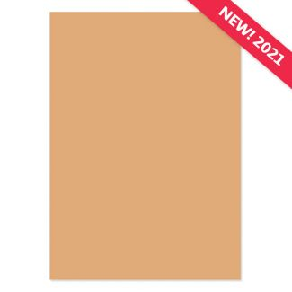 A4 Adorable Scorable Cardstock - Smooth Caramel x 10 Sheets