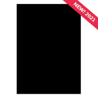 A4 Adorable Scorable Cardstock - Charcoal x 10 Sheets