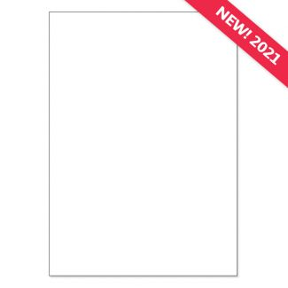 A4 Adorable Scorable Cardstock - White Chalk x 10 Sheets