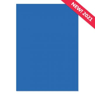 A4 Adorable Scorable Cardstock - Blue Sapphire x 10 Sheets