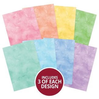 Adorable Scorable Pattern Pack - Watercolour Wash