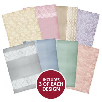 Adorable Scorable Pattern Pack - Delicate Lace