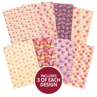 Adorable Scorable Pattern Pack - Falling Flowers