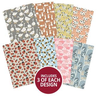 Adorable Scorable Pattern Pack - Creatures Great & Small