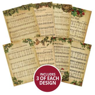 Adorable Scorable Pattern Pack - Christmas Melodies