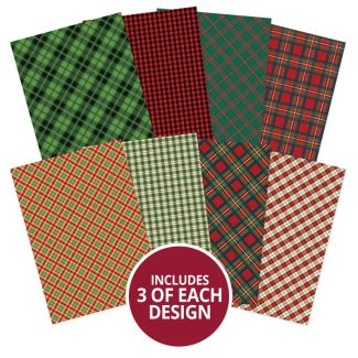 Adorable Scorable Pattern Pack - Festive Tartan