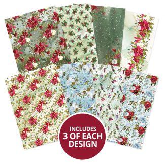 Adorable Scorable Pattern Pack - Winter Florals