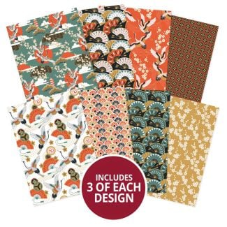 Adorable Scorable Pattern Packs - Eastern Charm