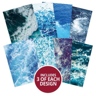 Adorable Scorable Pattern Packs - Ocean Waves