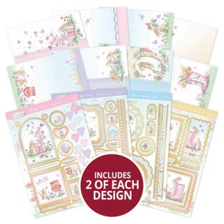 Acorn Wood - Bunny's Special Day Luxury Topper Collection