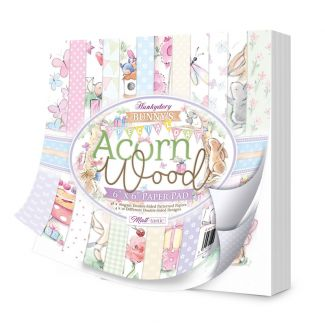 """Acorn Wood - Bunny's Special Day 6"""" x 6"""" Paper Pad"""