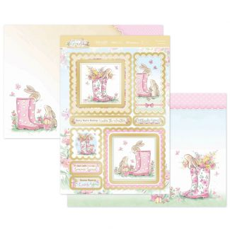 Some Bunny Loves You Luxury Topper Set
