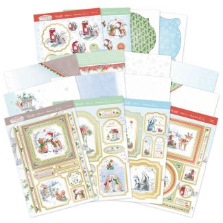 Christmas in Acorn Wood Luxury Card Collection
