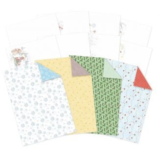 Christmas in Acorn Wood Luxury Card Inserts & papers