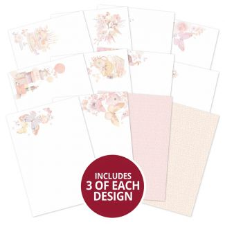 Butterfly Blush Luxury Card Inserts