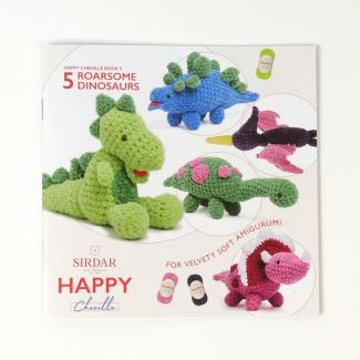 Happy Chenille Dinosaurs
