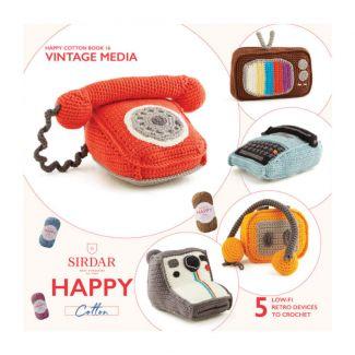 Happy Chenille Design Booklet - Vintage Media