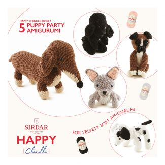 Happy Chenille Design Booklet - Puppy Party