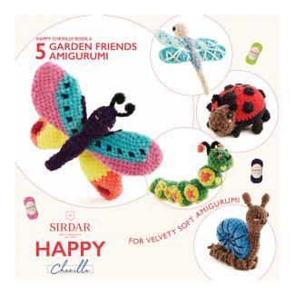 Happy Chenille Design Booklet - Garden Friends