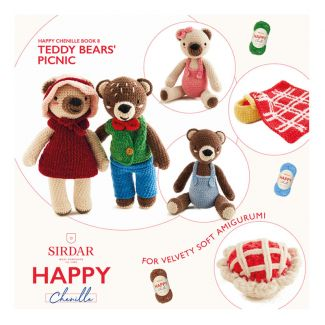 Happy Chenille Design Booklet - Teddy Bears' Picnic