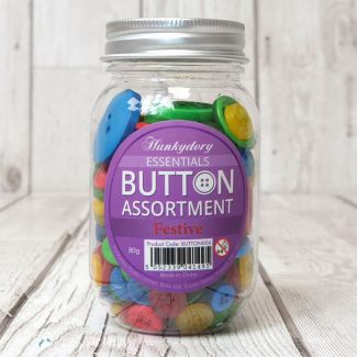 Hunkydory Button Assortment - Festive
