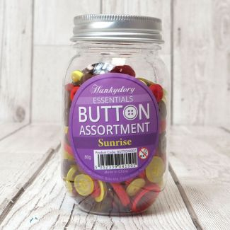 Hunkydory Button Assortment - Sunrise