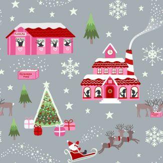 Christmas Glow - Glow North Pole pink/grey