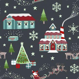 Christmas Glow - Glow North Pole night-time