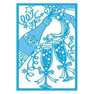 Gemini - Create A Card - Champagne Celebrations