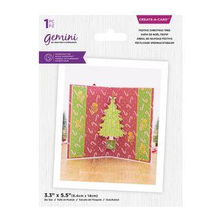 Gemini - Create A Card - Christmas Pop Out - Festive Christmas Tree