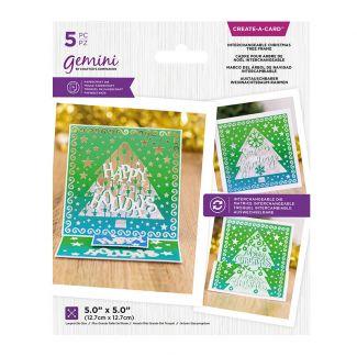 Create A Card - Interchangeable Christmas Tree Frame
