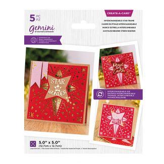 Create A Card - Interchangeable Star Frame