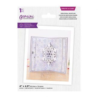 Gemini - Create A Card - Christmas Pop Out - Sensational Snowflake