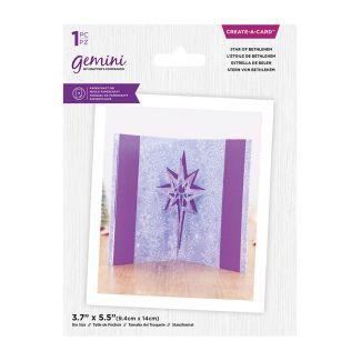 Gemini - Create A Card - Christmas Pop Out - Star of Bethlehem