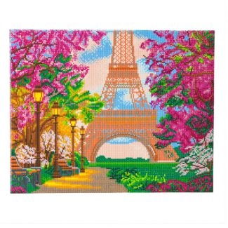 Framed Crystal Art Kit 40cm x 50cm - Eiffel Tower