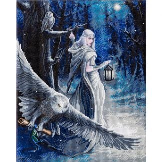 Anne Stokes Collection Crystal Art Kit 40cm x 50cm - Midnight Messenger
