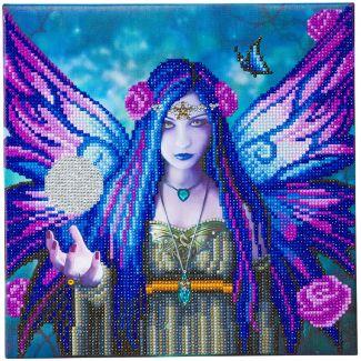 Framed Crystal Art Kit 30cm x 30cm - Mystic Aura by Anne Stokes