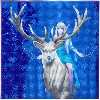 Framed Crystal Art Kit 30cm x 30cm -Fantasy Forest by Anne Stokes