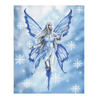 Anne Stokes Collection Crystal Art Kit 40cm x 50cm - Snow Fairy