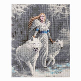 Anne Stokes Collection Crystal Art Kit 40cm x 50cm - Winter Guardians