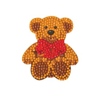 Crystal Art Motif Kit - Teddy Bear