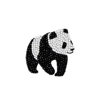 Crystal Art Motif Kit - Panda