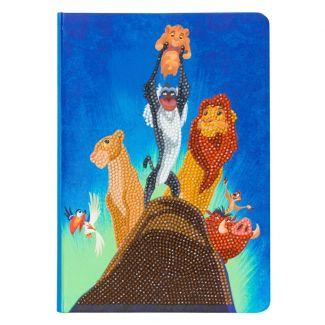 Crystal Art Notebook - Pride Rock