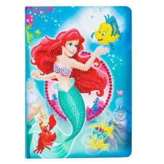 Crystal Art Notebook - The Little Mermaid