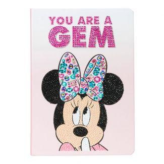Crystal Art Notebook - Classic Minnie
