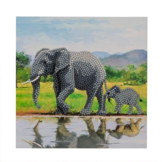 Crystal Card Kit - Elephant