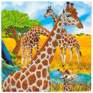 Crystal Card Kit - Gentle Giraffe