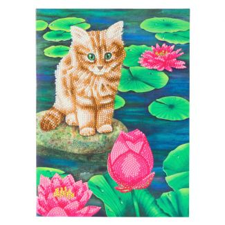 Giant Crystal Art Card Kit - Lily's Pond